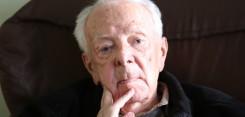 Prof.Andrzej Łępkowski - naoczny świadek tragicznych wydarzań w Zigeunerlager